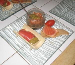 Triptyque de saumon 2