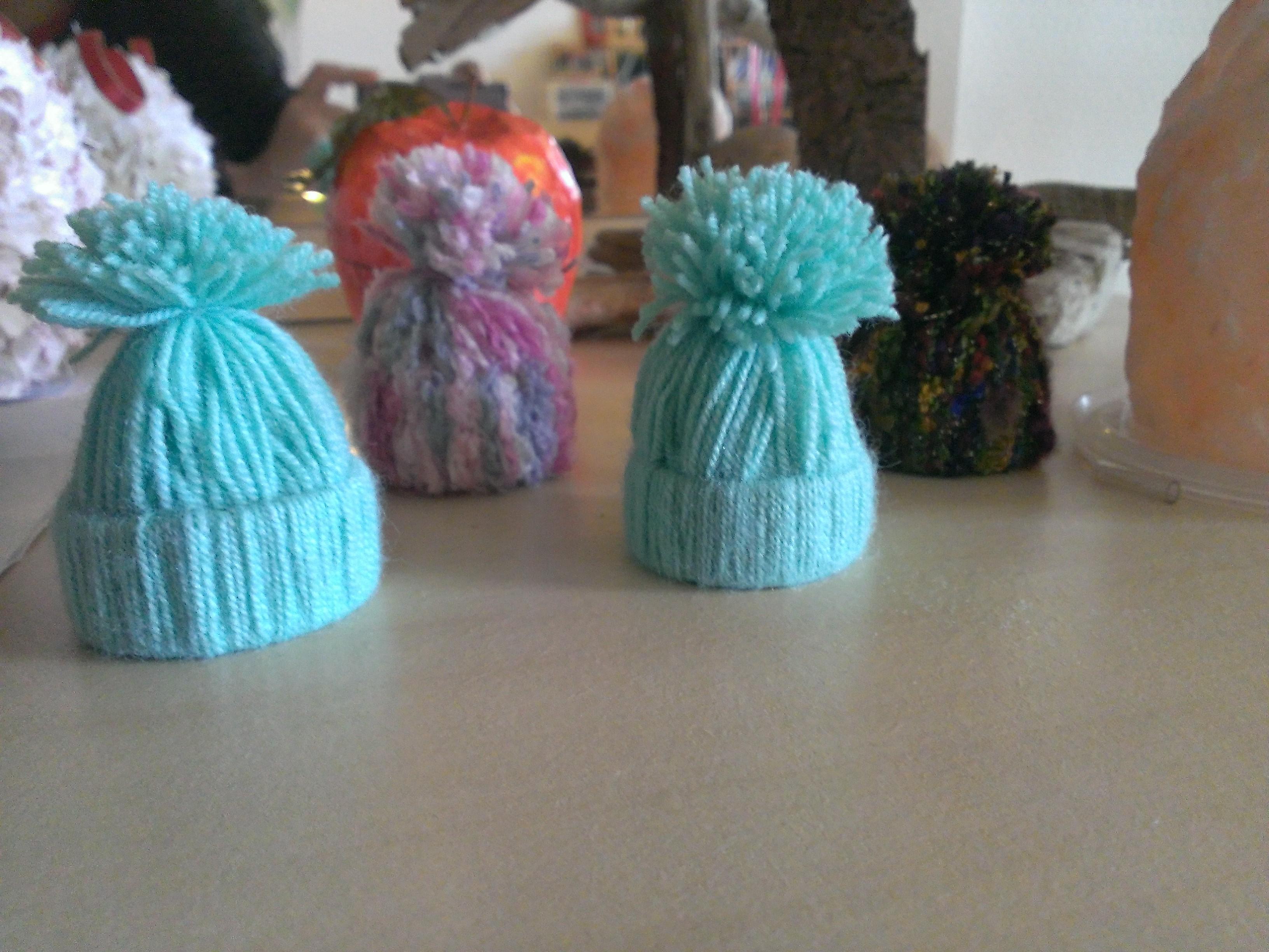 D corations de sapin en tissus et laine a vos listes - Deco sapin de noel en tissu ...