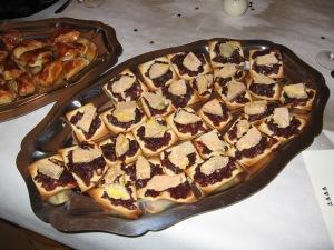 Tartelettes oignon foie gras 1